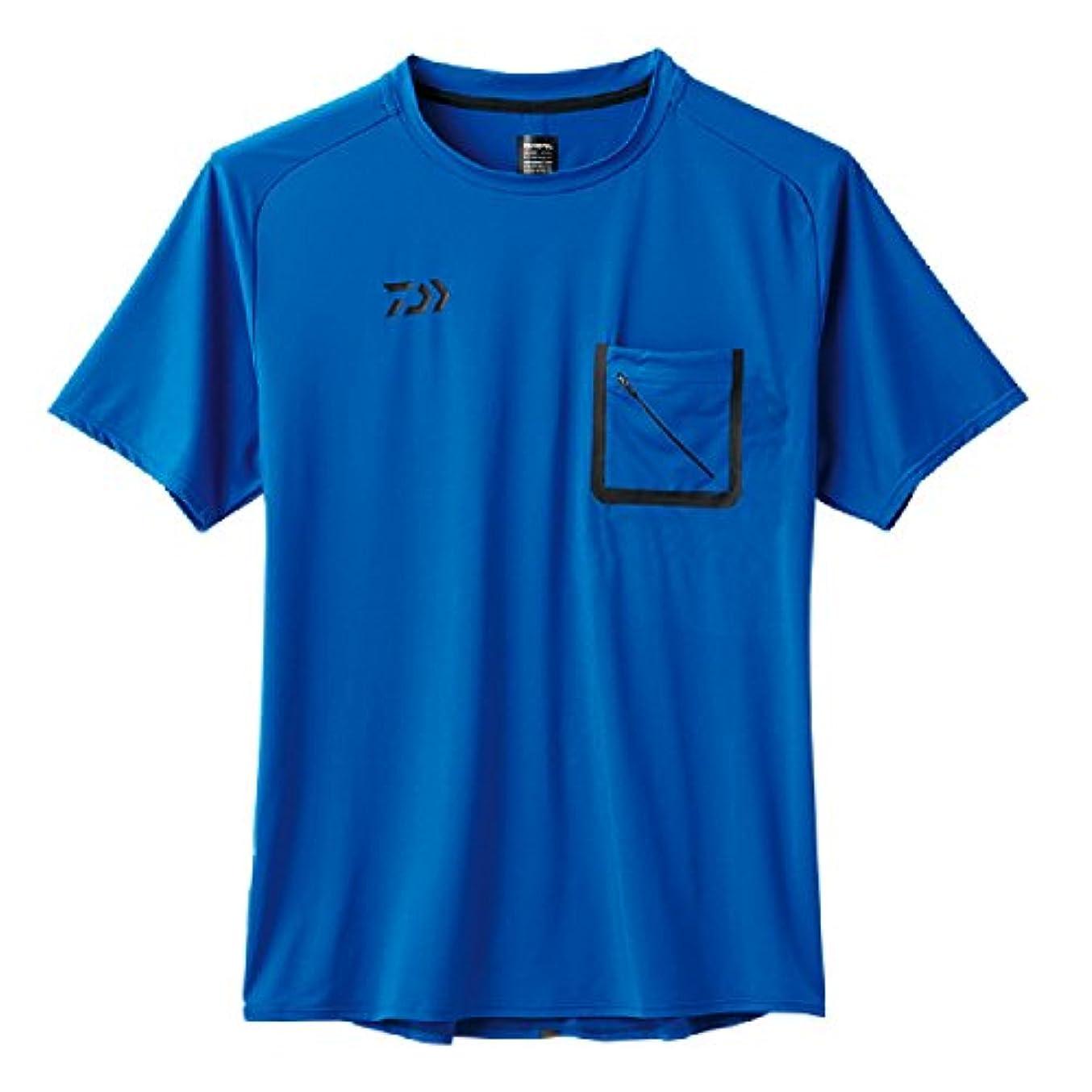 マート爆風縫うダイワ(DAIWA) ストレッチハーフスリーブ ポケット付きポロシャツ DE-86008