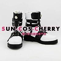 【サイズ選択可】コスプレ靴 ブーツ K-652 極限脱出 9時間9人9の扉 サンタ santa 男性27CM