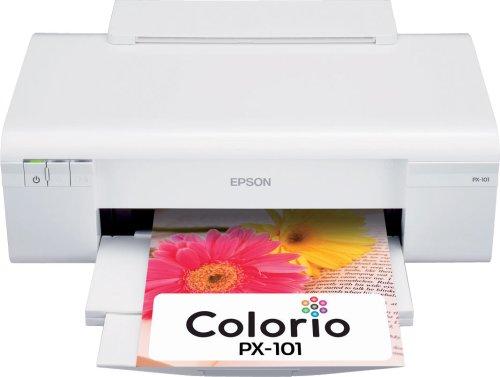 EPSON Colorio インクジェットプリンター PX-101 4色顔料インク