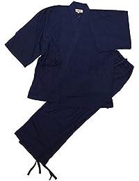【江戸てん】作務衣?平織りソフト作務衣(さむえ)