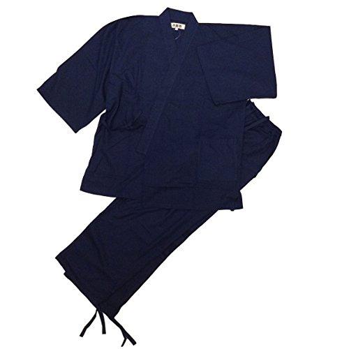 江戸てん】作務衣・平織りソフト作務衣(さむえ)
