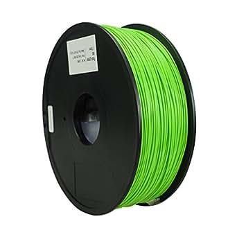 Qidiテクノロジーグリーン1.75ミリメートルのABS材料