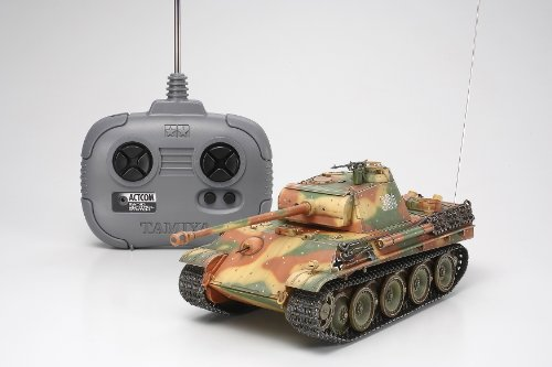 1/35 RCタンクシリーズ No.5 ドイツ戦車 パンサーG 後期型 (4chユニット付)