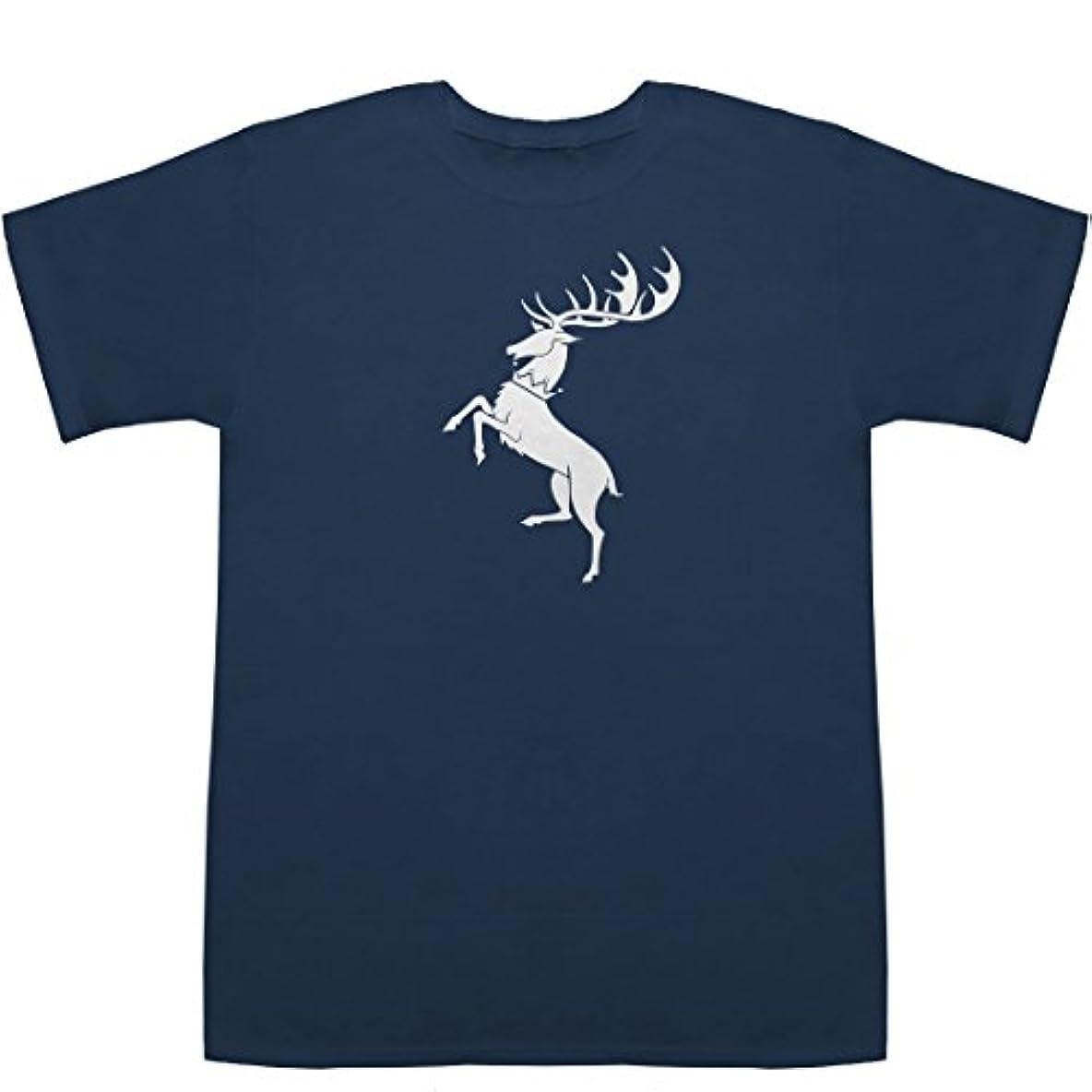 スナップクラウンスリップバラシオン Baratheon T-shirts