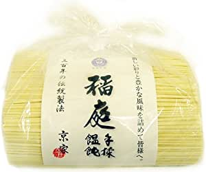 京家 三百年の伝統製法 稲庭手揉饂飩(いなにわ てもみ うどん)  お徳用1kg袋詰