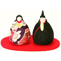 『いにしへ たまご雛』 お雛様/雛人形/玄関にも飾れる小型タイプ