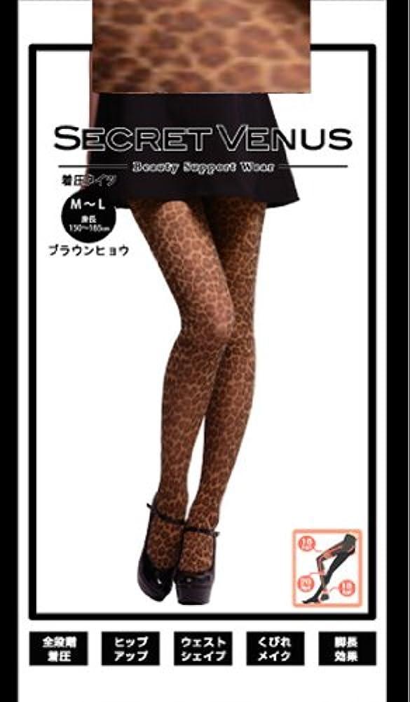 困惑したサークルメールを書くSecret Venus シークレットヴィーナス(タイツ)  ヒョウ