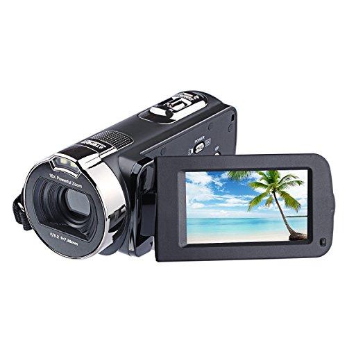 PowerLead 2.7インチ液晶画面デジタルビデオカメラ...