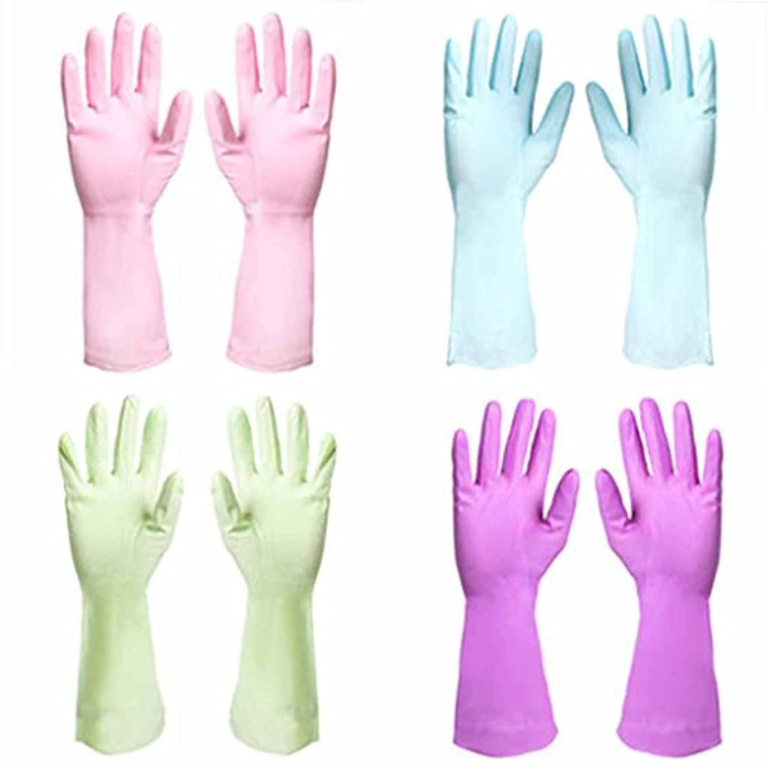 ヒップラッカス。使い捨て手袋 PVC防水性と耐久性の手袋キッチン油耐性汚れ手袋