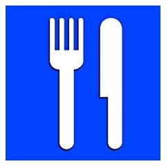 食品食事エリア SLAP-STICKZ(TM)自動車カーウィンドウロッカーバンパーステッカー