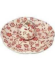 赤小花 花形香皿 お香立て お香たて 日本製 ACSWEBSHOPオリジナル