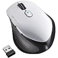 BUFFALO 無線 BlueLED 5ボタン ネオフィットマウス Mサイズ ホワイト BSMBW515MWH