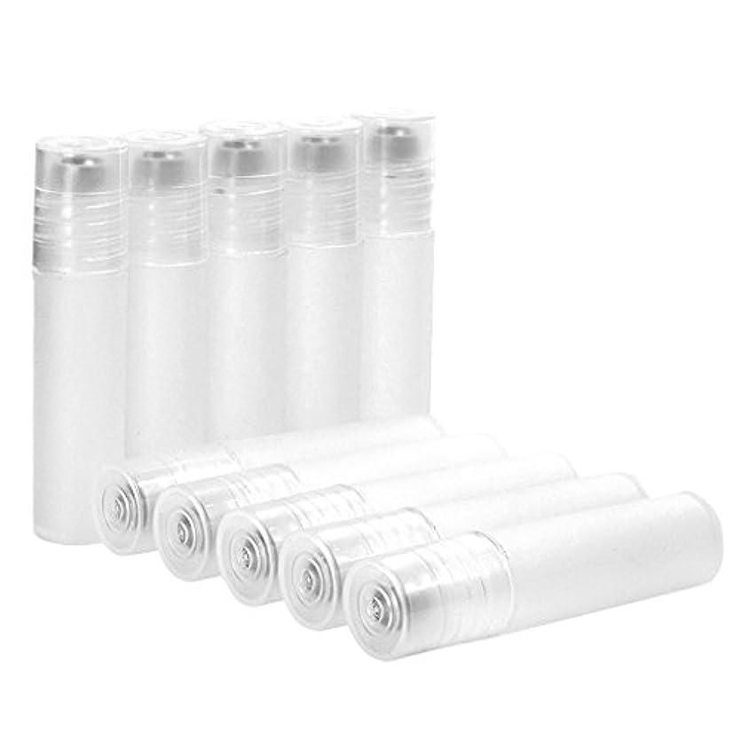 オン年金同化する10本セット 空ボトル 香水 クリーム 液体 リフィルボトル 詰め替え 5ml ミニサイズ