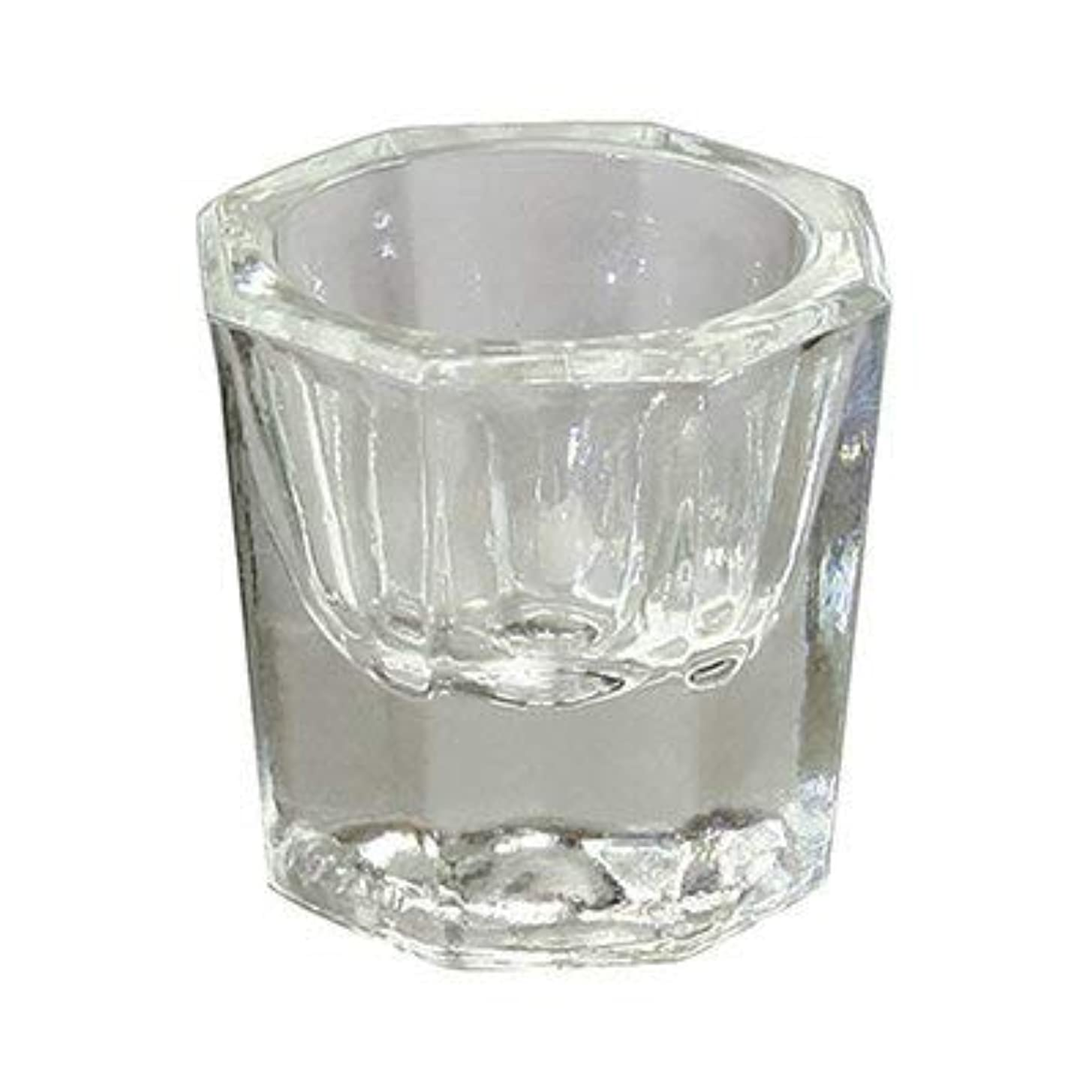 あからさまテーブルを設定する追い付くガラスダッペンディッシュ(ふた無)