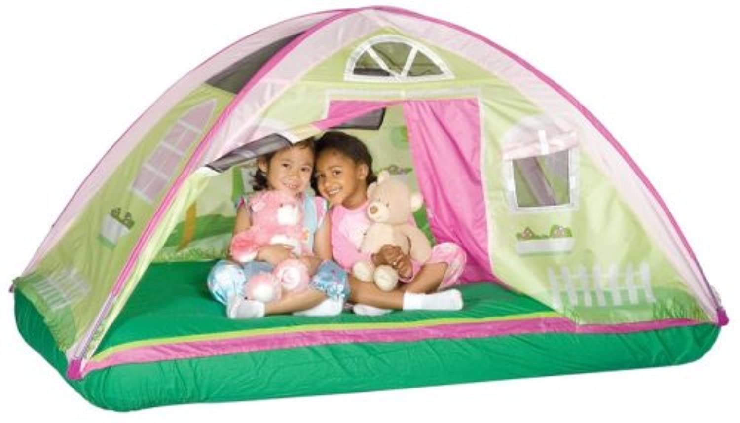 Pacific Play Tents CottageベッドテントプラスチックPlayhouseキット