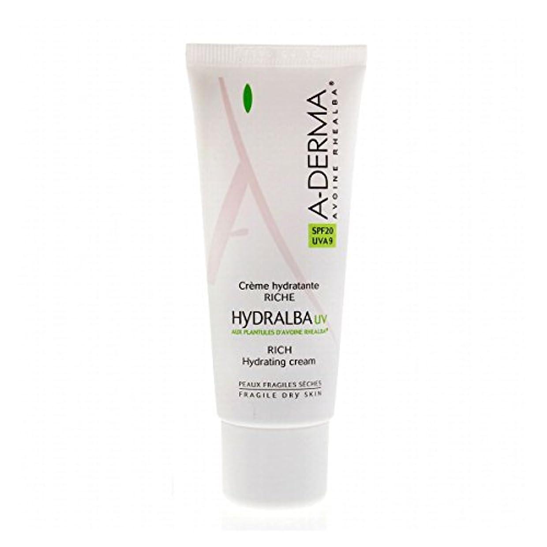 韓国航空便意見A-derma Hydralba Uv Rich Hydrating Cream 40ml [並行輸入品]