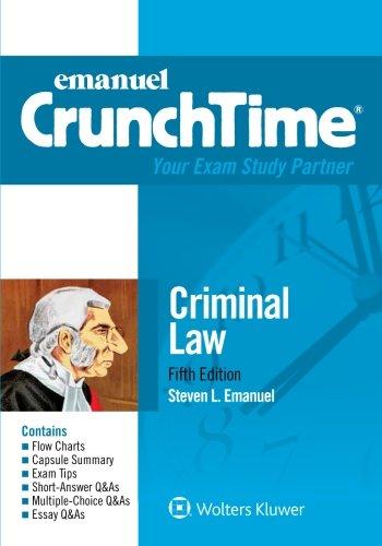 Download Criminal Law (Emanuel CrunchTime) 1454840943