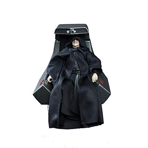 スター・ウォーズ エピソード6 ジェダイの帰還 パルパティーン皇帝 6インチ フィギュア Star Wars The Black Series Emperor Palpatine Action Figure with Throne 【並行輸入品】