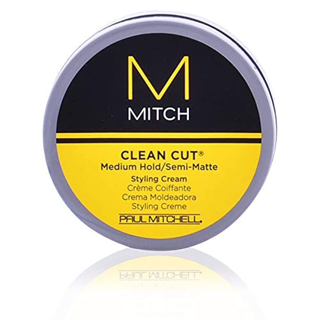 負荷先のことを考える証明するMitch Clean Cut Medium Hold/Semi-Matte Styling Cream