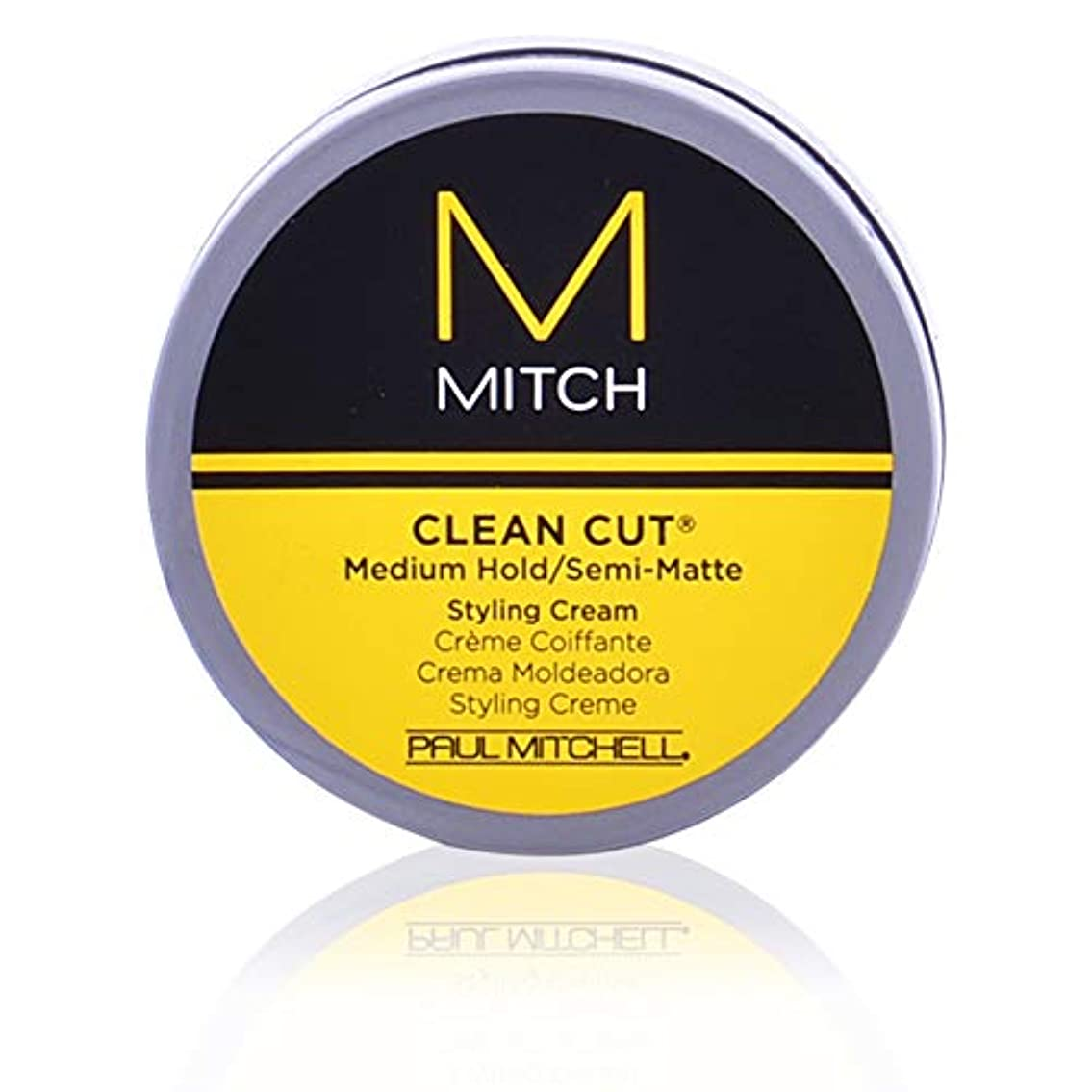 フィラデルフィアどんよりした順応性Mitch Clean Cut Medium Hold/Semi-Matte Styling Cream