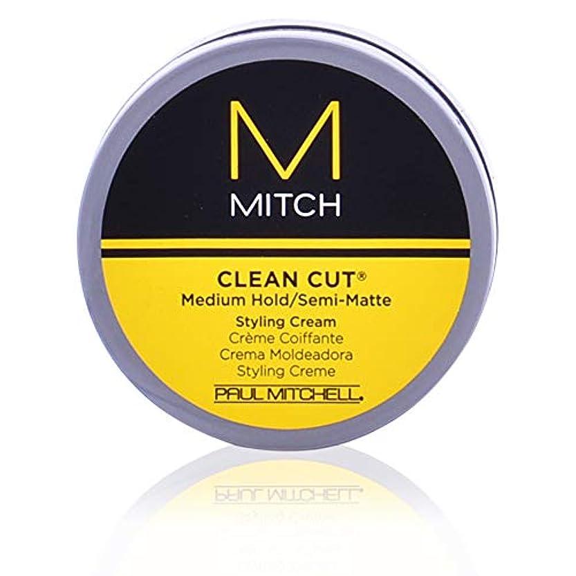 年次改修ノミネートMitch Clean Cut Medium Hold/Semi-Matte Styling Cream