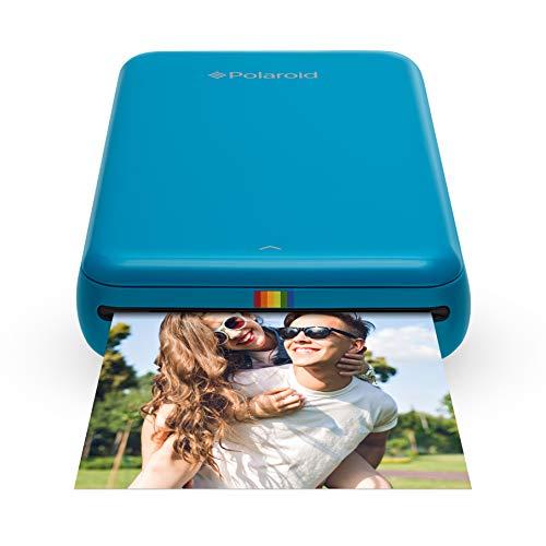 ポラロイド Zip インスタントモバイルプリンター (ブルー)