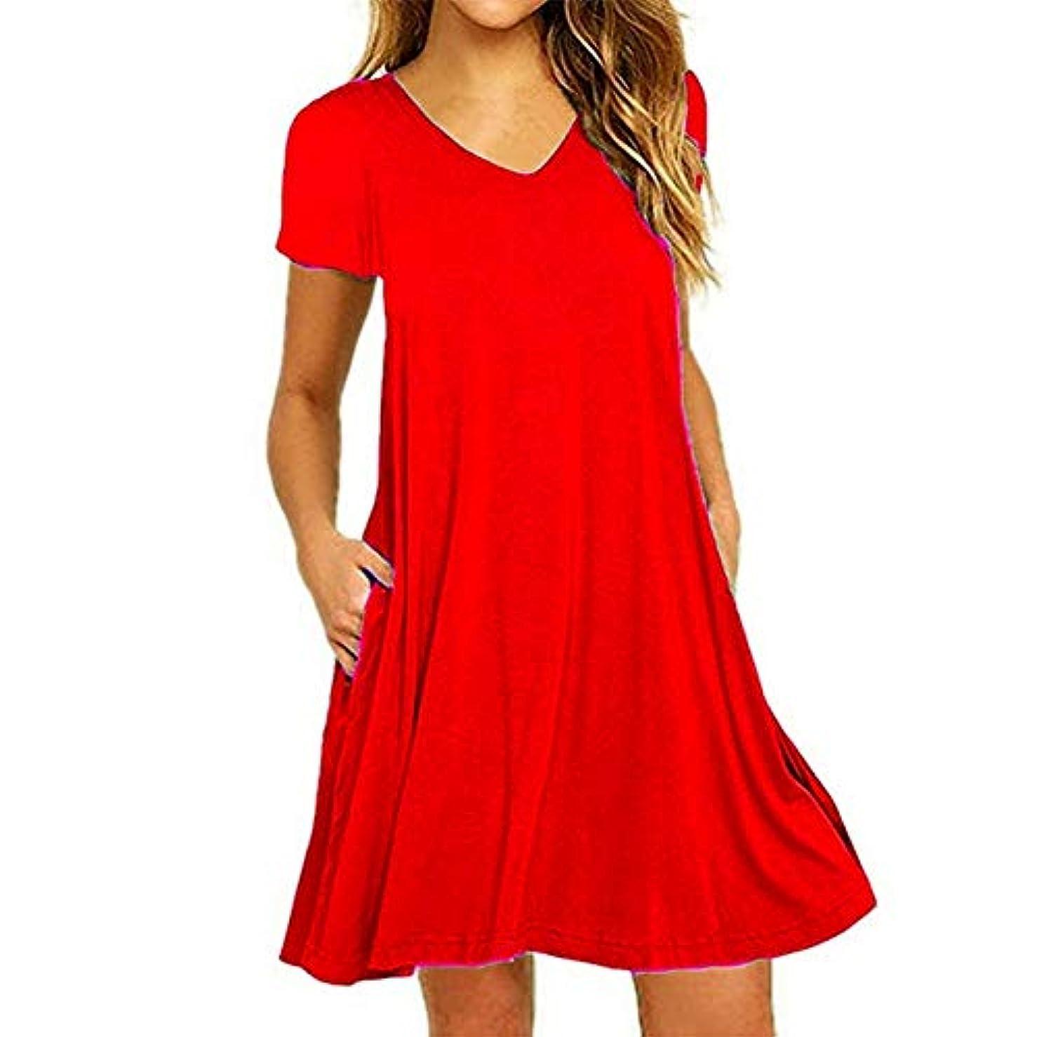 単にの前でジャンクMIFAN の女性のドレスカジュアルな不規則なドレスルースサマービーチTシャツドレス