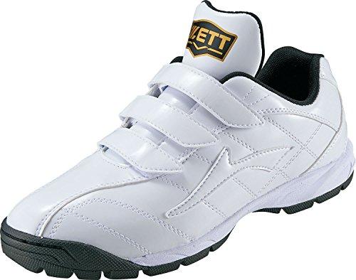 ZETT(ゼット) 野球用 トレーニングシューズ ラフィエット BSR8017G ホワイト×ホワイト(1111) 26.5