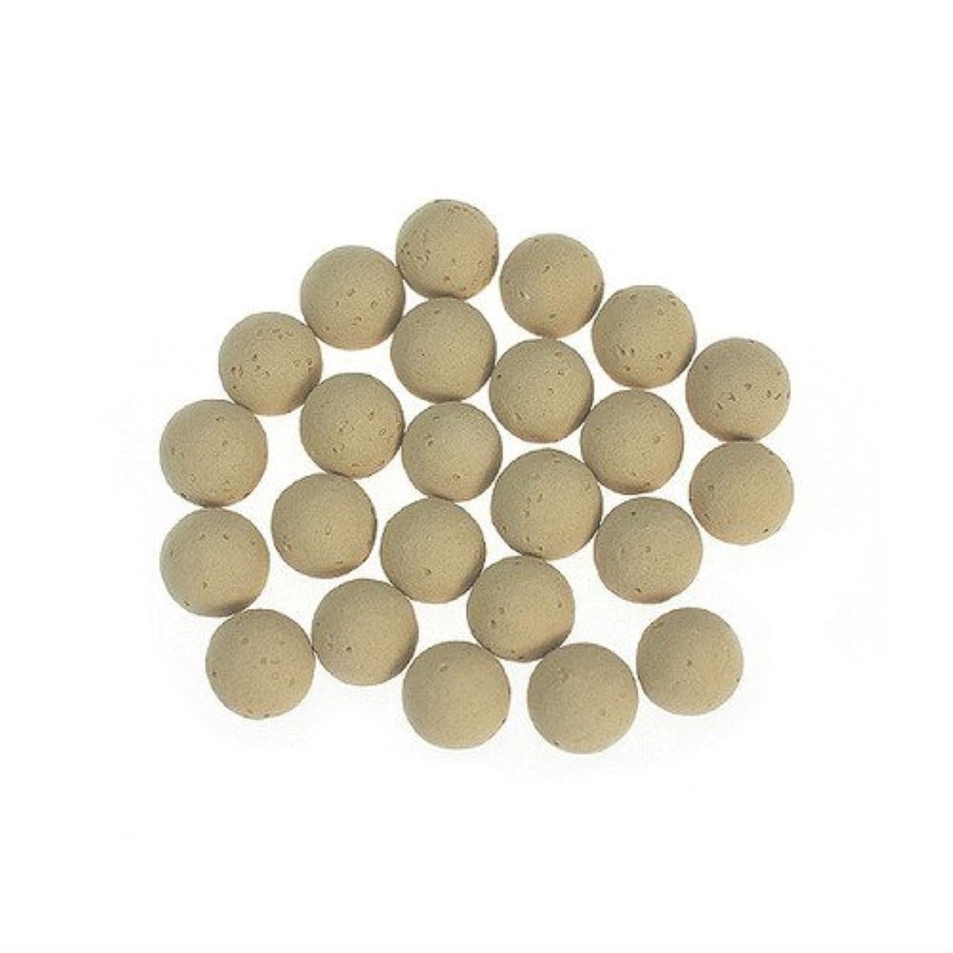 ペイン数学的な優先ころころ香ポット 交換用素焼きボール(24個入)