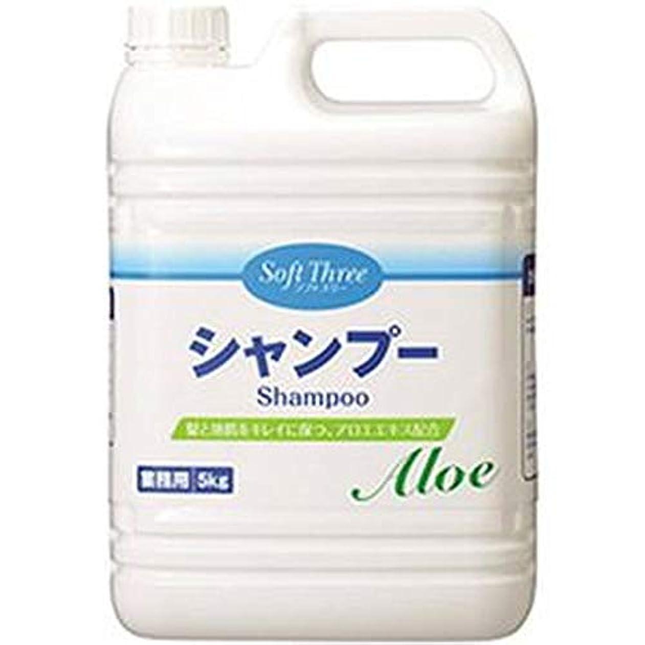 石膏繊毛リクルートソフトスリーシャンプー5kg??1箱-3本-