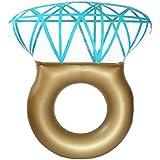 ダイヤモンド浮き輪[指輪 フロート ダイヤ]