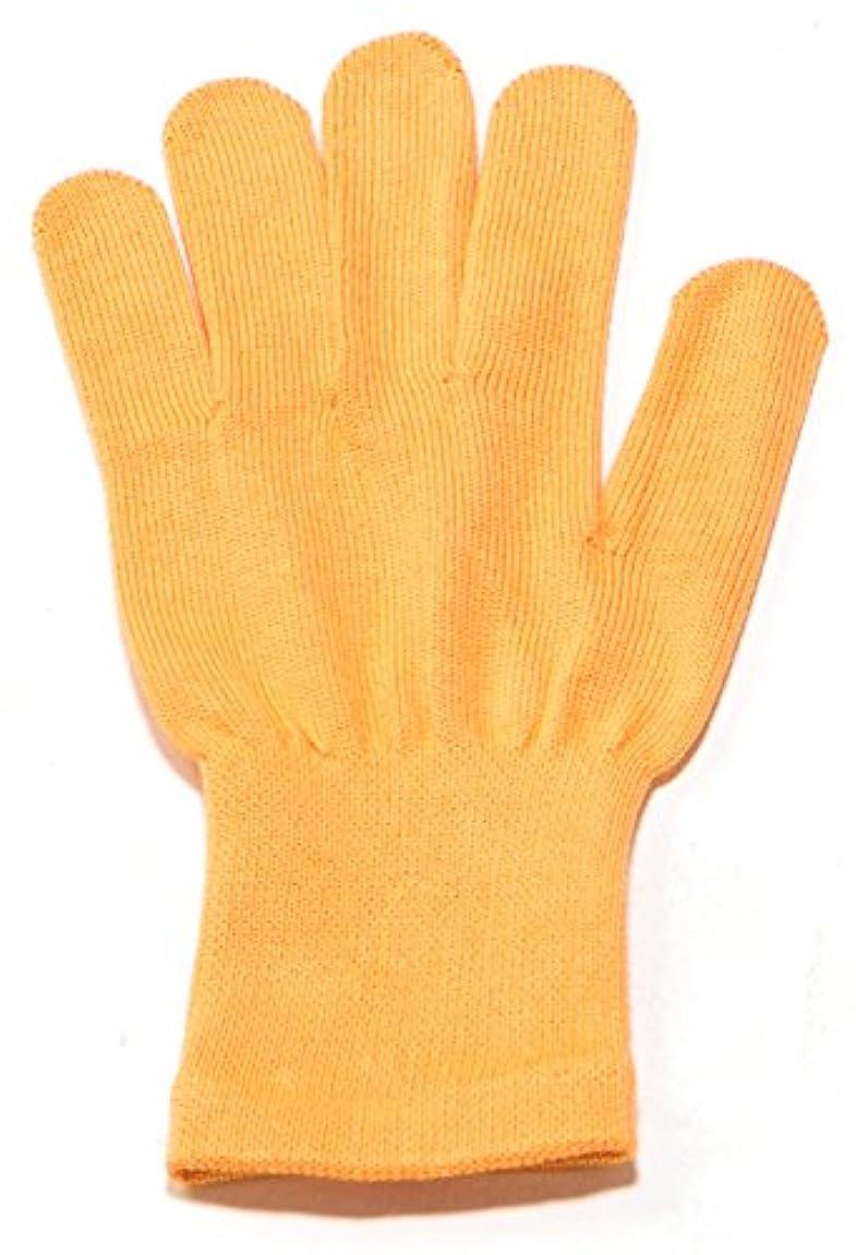 デンマーク弁護人反対したイチーナ【ハンドケア手袋ショート】天然保湿効果配合繊維(レディース?フリーサイズ) (オレンジ)