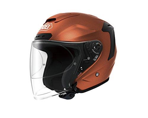 ショウエイ(SHOEI) バイクヘルメット ジェット J-FORCE4 タンジェリンオレンジ L (59cm)