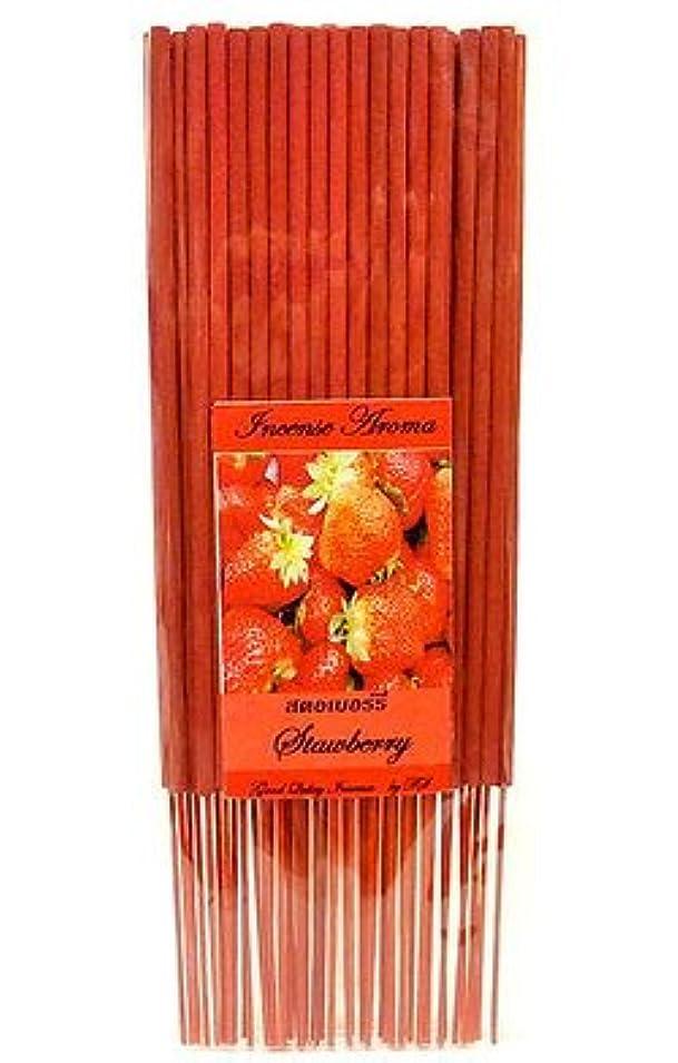 誘うインドテザータイのお香 スティックタイプ [STRAWBERRY/ストロベリー] インセンスアロマ 約50本入りアジアン雑貨