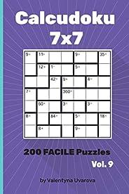 Calcudoku: 200 Facile Puzzles 7х7 vol. 9