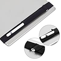 """Zeaya Protective Sleeve Stylus Case Cover Holder Pouch For Apple iPad Pro Pencil 12.9"""", Black"""