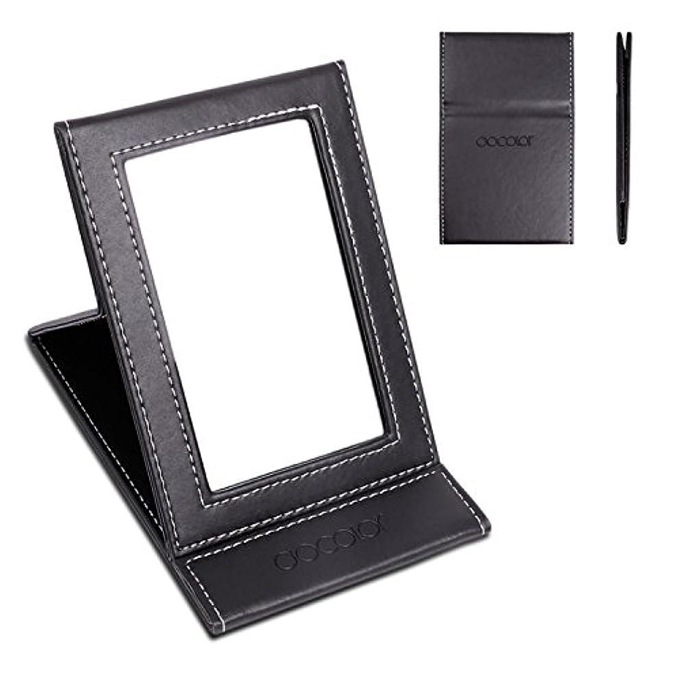 実現可能性作家何でも化粧鏡 卓上ミラー 折りたたみ式-DOCOLOR スタンドミラー 携帯用ミラー