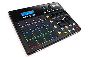 Akai Professional USB MIDIコントローラー 16パッド 4フェーダー 音源ソフト付属 MPD226