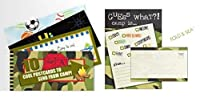 Penny Lane Camo 10 Postcards and Gues What Fold and Seal Pack [並行輸入品]