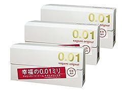 【まとめ買いセット】 サガミオリジナル 0.01 5個×3箱入