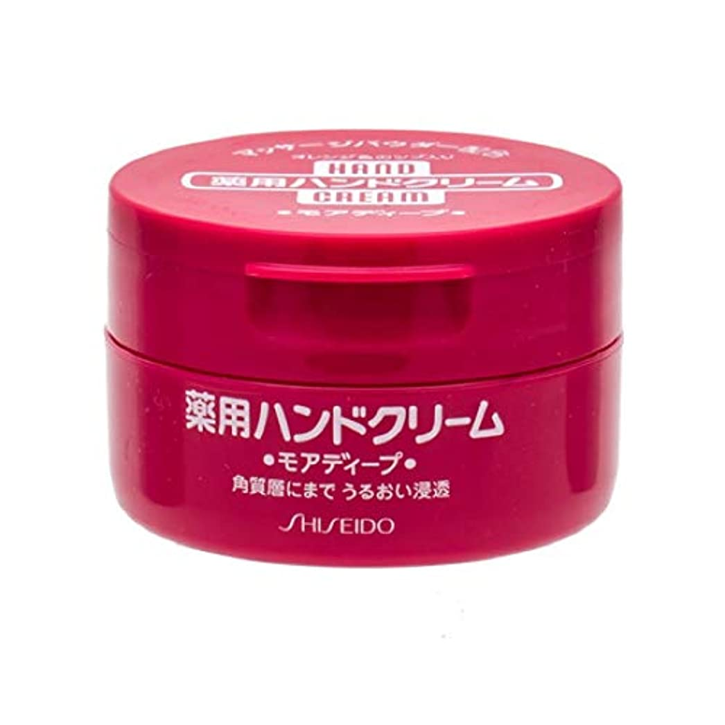 タッチ予報屋内で資生堂 ハンドクリーム(薬用モアディープ) 100g 【医薬部外品】