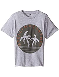 [ステラマッカートニー] Stella McCartney Kids ボーイズ Arrow Logo Tee with Palm Trees (Toddler/Little Kids/Big Kids) トップス [並行輸入品]
