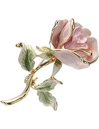 [ヴァンドーム ブティック] VENDOME BOUTIQUE 薔薇 ローズ バラモチーフ ブローチ VBRV9025 P2