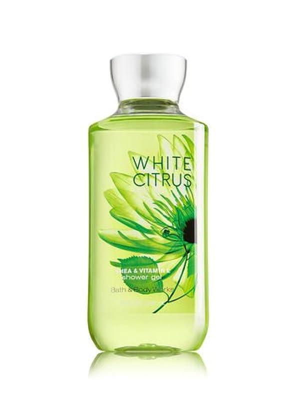 人物条約舗装バス&ボディワークス ホワイトシトラス シャワージェル White Citrus Shower Gel [並行輸入品]