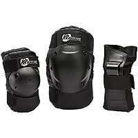 K2(ケーツー) 3点プロテクター PRIME MENS PAD SET 大人用 手首・ひじ・ひざ用 プロテクター プライムパッドセット インライン スケート