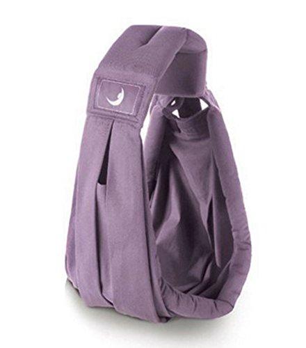 DEZAR 抱っこひも ベビーキャリア 抱っこひも ベビースリング (紫)