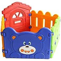 赤ちゃんの子供の遊びのフェンス赤ちゃんのフェンスの安全なフェンスの折り畳みポータブルプラスチックフェンス屋内のおもちゃ