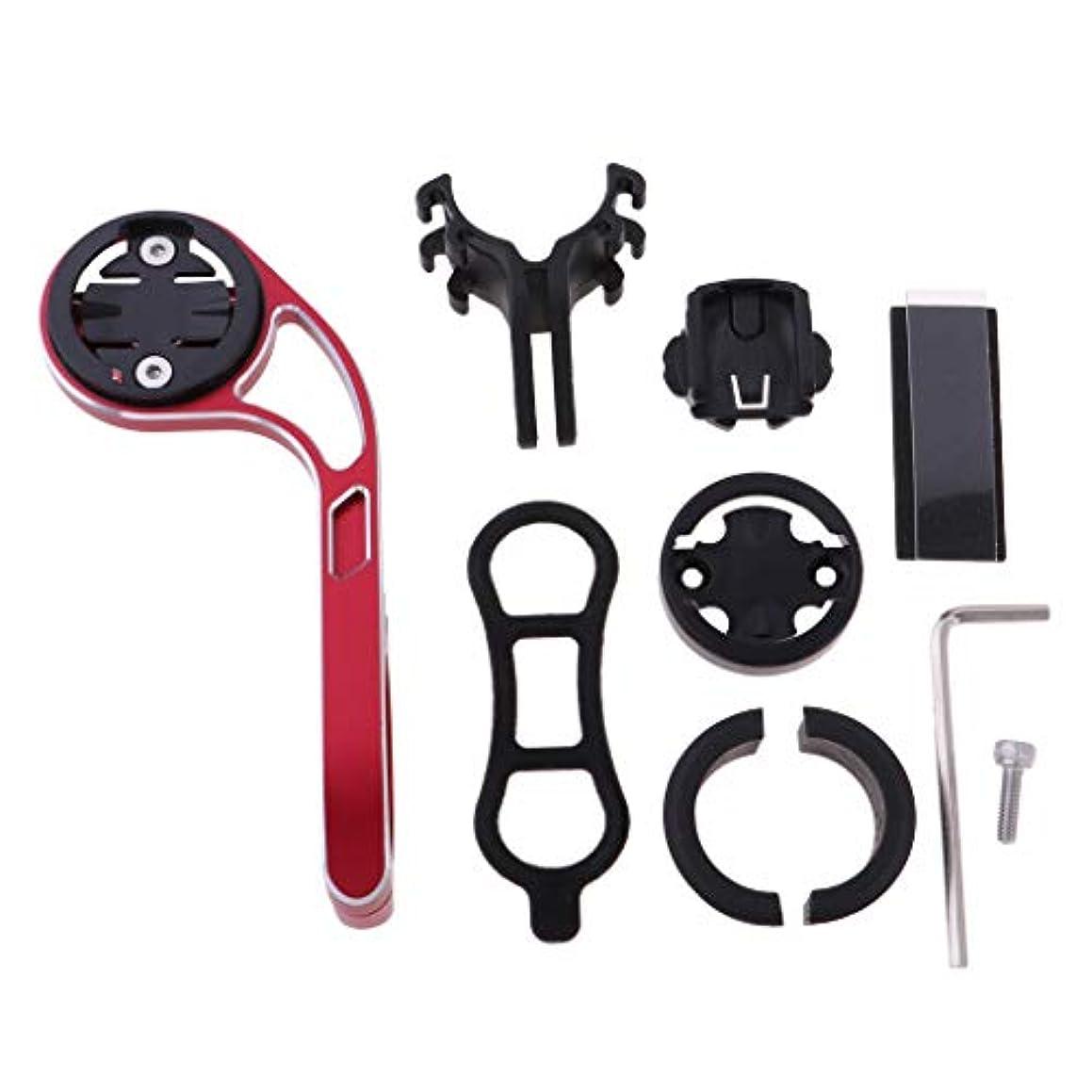 キャプションコンセンサス酸度FLAMEER 自転車ステムエクステンションエクステンダ マウンテンロードバイク懐中電灯GPSホルダー
