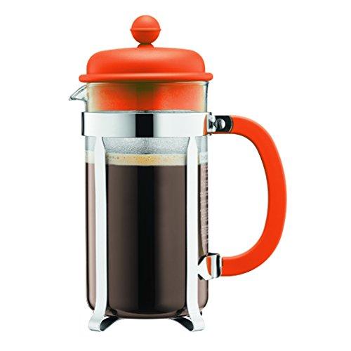 BODUM ボダム CAFFETTIERAカフェティエラ フレンチプレスコーヒーメーカー 350ml オレンジカラー 1913-948B-Y17