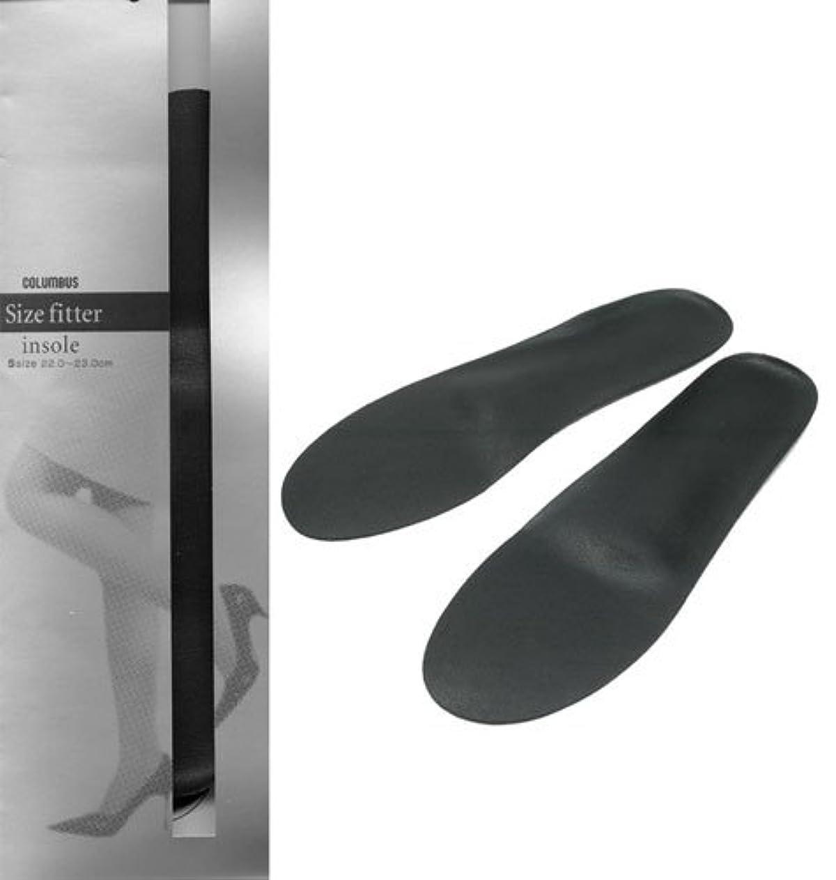 ロッカーシーンデコレーションコロンブス フットソリューション サイズフィッターインソール 女性用 Sサイズ(22.0~23.0cm)
